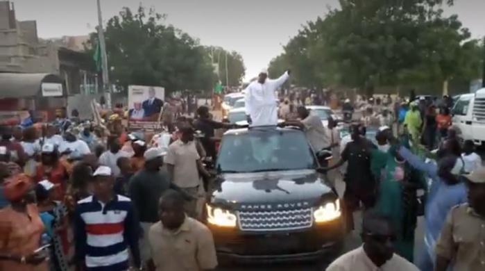 Clôture de la campagne : La caravane de Moustapha Diop mobilise tout Louga