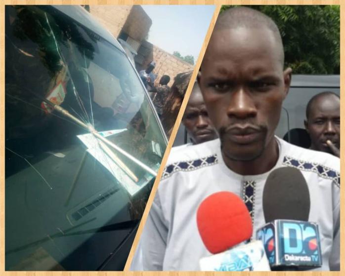 VIOLENCE À TAÏF / Le véhicule du maire caillassé... Mbaye Tine accuse les Sonkolais
