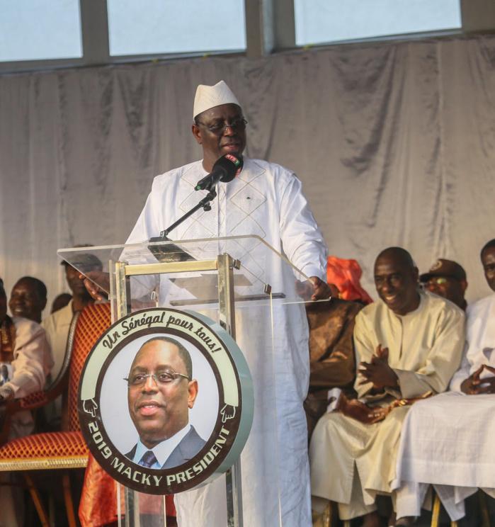 Sithiou Bamambé Banadji : Avec Mamadou Talla, Macky Sall sort avec 94% des voix
