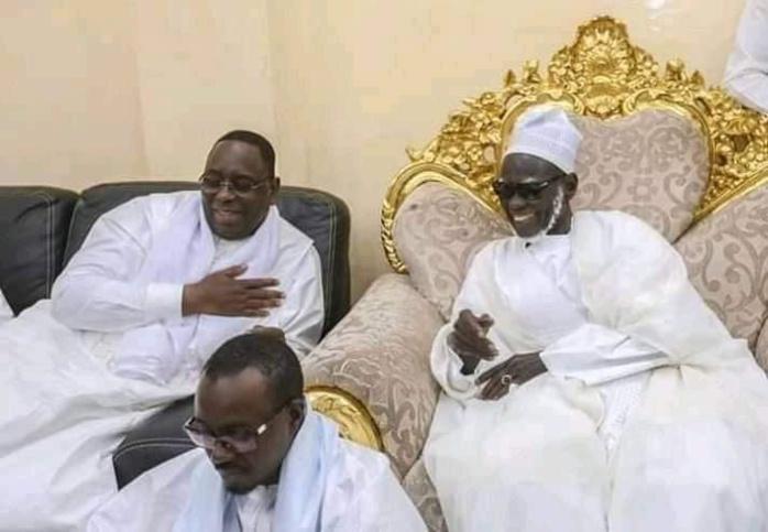 Entretien téléphonique : Le Khalife général des Mourides félicite le président Macky Sall et lui renouvelle « sa confiance » et « son affection »