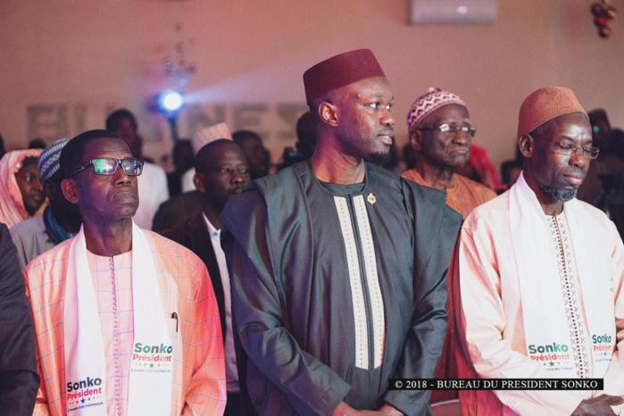 Résultats de la présidentielle 2019 au Sénégal : «Sonko Président» appelle à la vigilance.