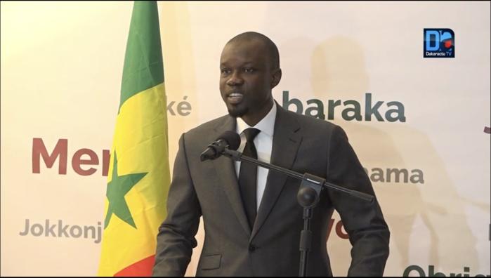 Ousmane Sonko à ses alliés : «Vous avez fait preuve de patriotisme. Le combat continue car nous avons fait un travail inédit.»