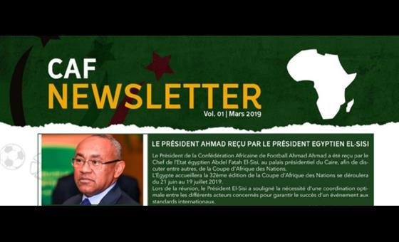 La CAF lance la publication de sa nouvelle « CAF NEWSLETTER »