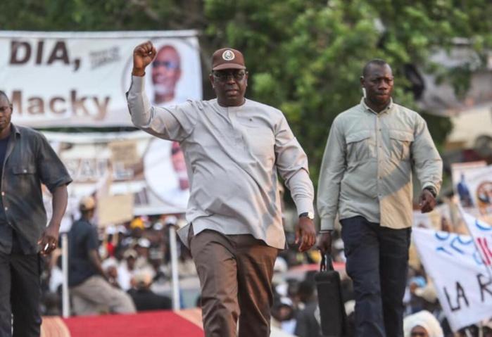 Urgent : Le conseil constitutionnel confirme la réélection de Macky Sall au premier tour