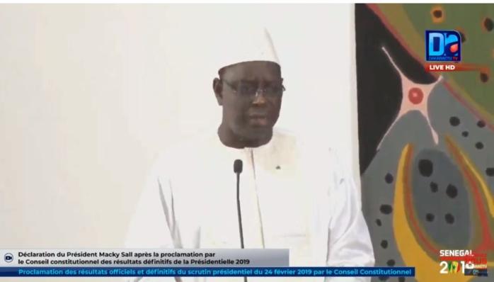 Réélu pour un deuxième mandat : Macky Sall va prêter serment le 2 Avril prochain