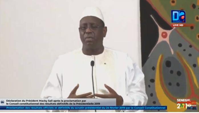 Macky Sall : « Le ministre de l'Intérieur était attendu au tournant, je le félicite ainsi que tous les acteurs du scrutin… »