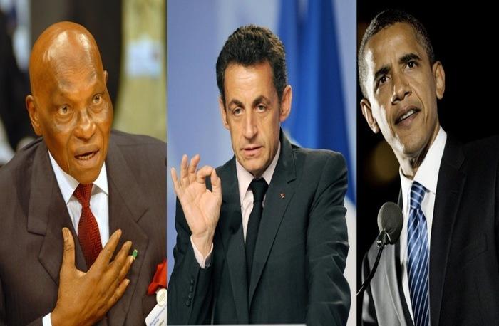 Wade, Sarkozy et Obama : de l'amour au désamour.