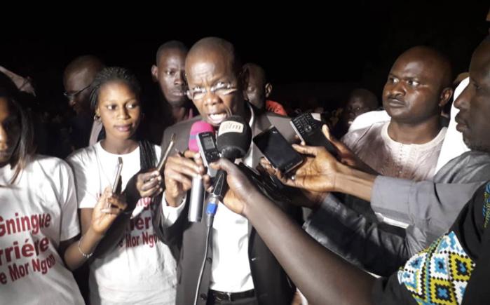 MOR NGOM TENACE : «18 cités fondées par Serigne Touba ou sous son ndigël ont voté Macky... Nous n'avons pas besoin de mettre Idy en résidence surveillée»
