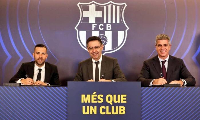 Officiel : Jordi Alba prolonge avec le FC Barcelone jusqu'en 2024 !