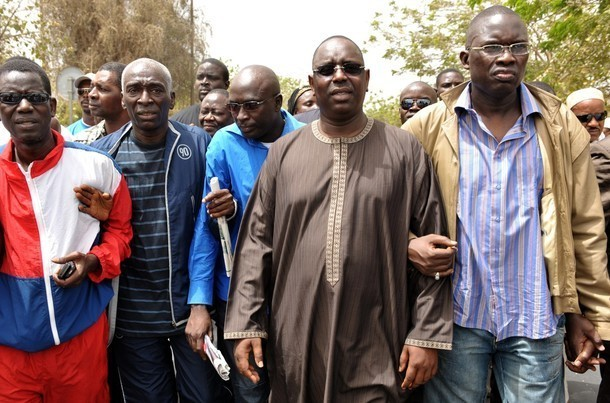 [ AUDIO ] MANIFESTATION DU 23 JUILLET: LA REACTION DE MACKY SALL ( APR )