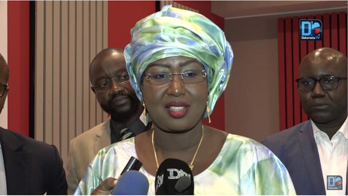 Maïmouna Ndoye Seck : «Je ne parle pas de 3ème mandat...»