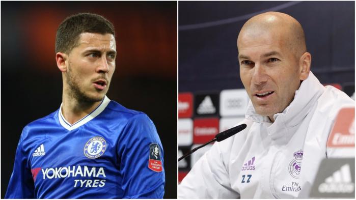 Real Madrid : Hazard serait la priorité de Zidane