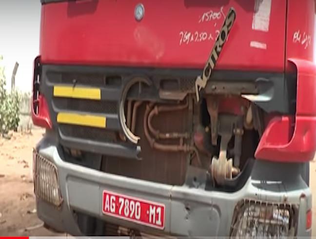 Kaolack : Un camion malien fou tue un charretier, sa femme et leur cheval