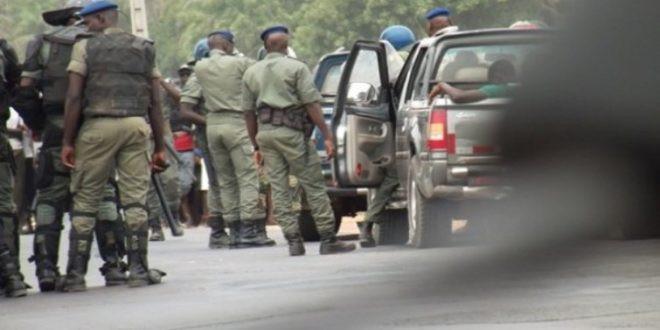 Jaxaay : La voiture des braqueurs retrouvée non loin d'un cimetière