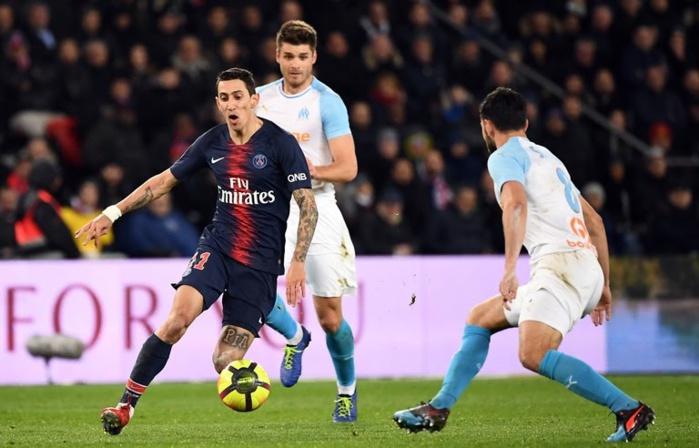 Ligue 1 : Di Maria et le PSG trop forts pour l'OM ! (3-1)