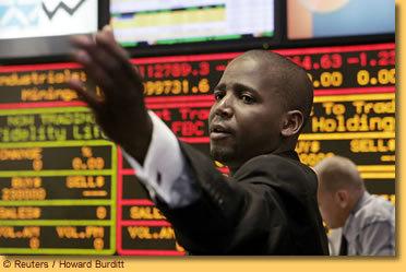 [ AUDIO ] Les places boursières africaines restent à l'abri malgré l'effondrement mondial