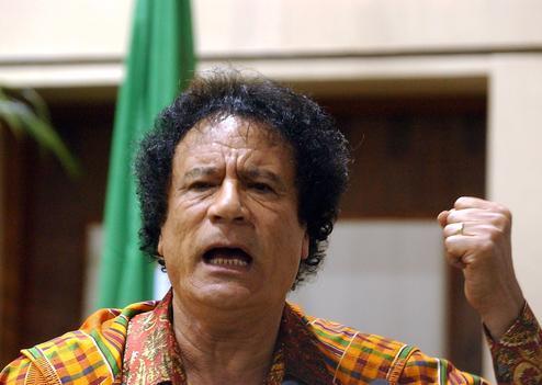 Khadafi réclame le départ de Cameron