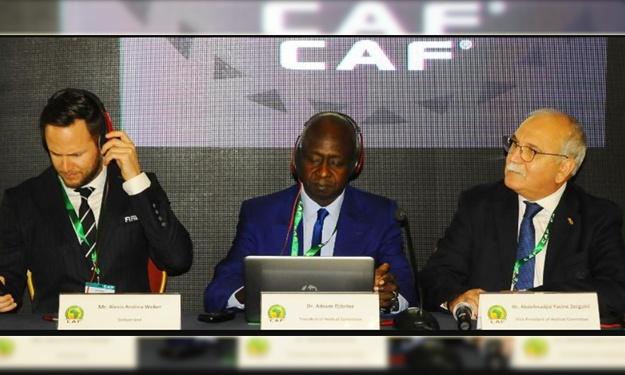 Lutte contre le dopage : La CAF et la FIFA organise le premier atelier des officiers de controle