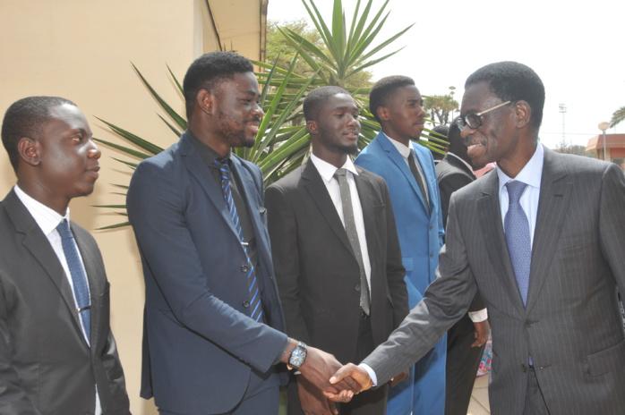 Les images de la cérémonie de signature de la convention de partenariat entre le Cesag et la Boad