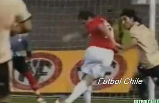 [ VIDEO ] Un Argentin marque deux buts en coup du foulard en une semaine