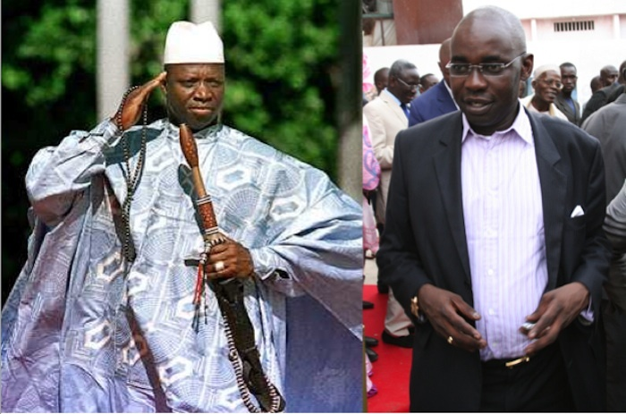 Abdoulaye Wade réconcilie Samuel Sarr et Yaya Jammeh.
