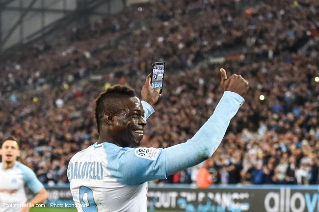 Marseille : Nouveau record de Mario Balotelli