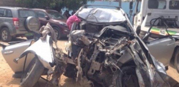 Kaolack : Un accident fait 7 blessés graves.
