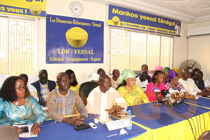 Dialogue National / Pour l'intérêt supérieur du pays : La Coalition DIISSO invite l'opposition à répondre favorablement.