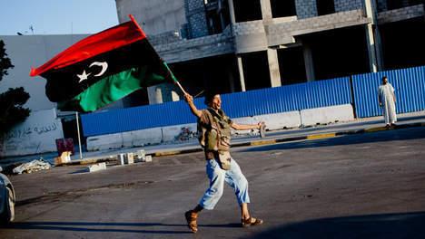 """Le """"gouvernement"""" rebelle installé à Tripoli"""