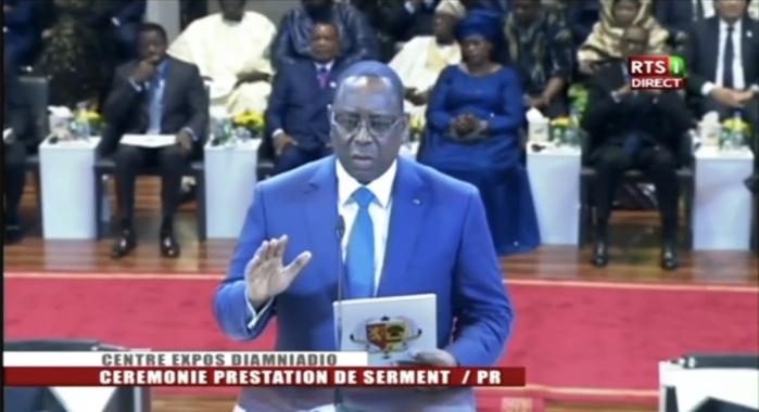 Prestation de serment : L'engagement de Macky Sall, dans ses fonctions de président de la République