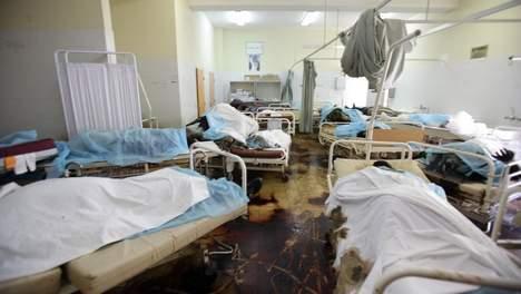 80 cadavres découverts dans un hôpital de Tripoli.