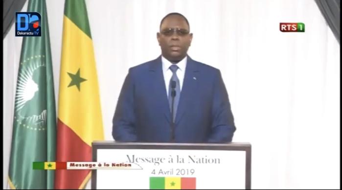 Message à la Nation : L'appel poignant de Macky Sall aux militaires Sénégalais
