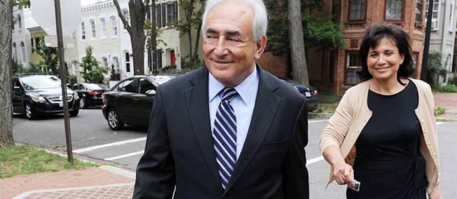 Les adieux de Dominique Strauss-Kahn au FMI