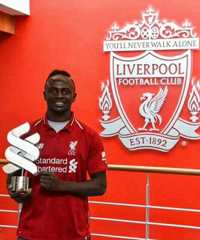 Liverpool : Sadio Mané élu meilleur joueur du mois de mars