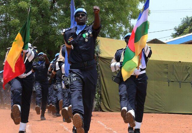Centrafrique : 139 gendarmes sénégalais honorés de la médaille de l'ONU