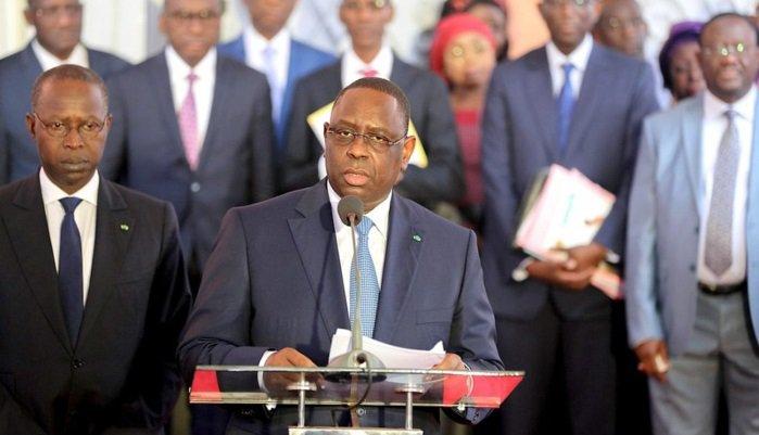 Présidence : Macky Sall annonce ''un resserrement organique'' du prochain gouvernement