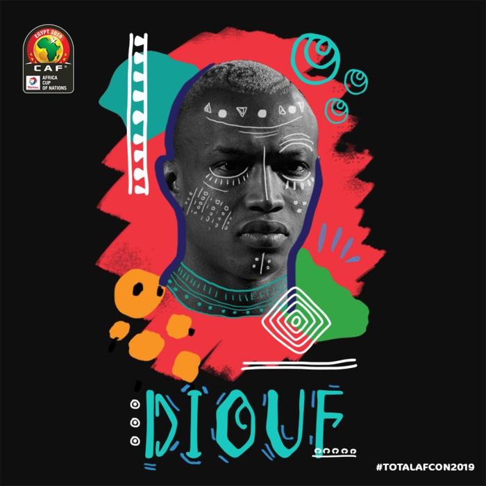 Tirage au sort CAN 2019 : El Hadj Diouf honoré par la CAF en tant qu'invité d'honneur.