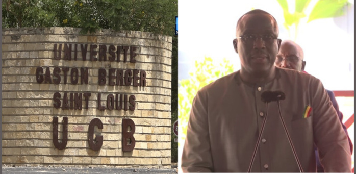 Saint-Louis : Ces grands chantiers qui attendent Cheikh Oumar Hanne à l'UGB