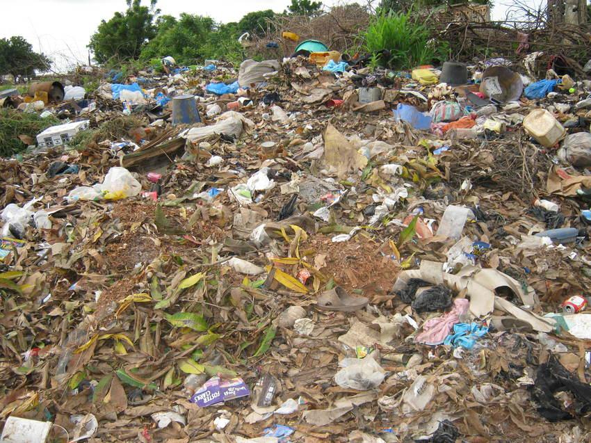 Bignona: Pour faute de moyen au niveau de la mairie, des tonnes d'ordures ménagères inondent la ville