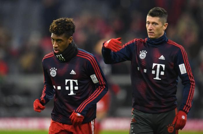 Bayern Munich : Violente bagarre entre Robert Lewandowski et Coman à l'entraînement