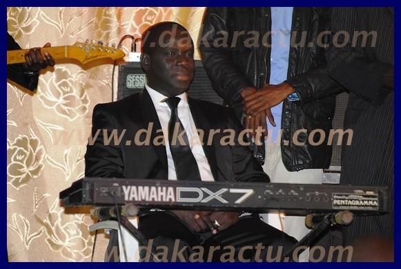 Au clavier, Elhadji Malick Gackou.