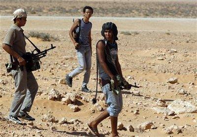 Onze combattants anti-Kadhafi tués dans la bataille de Syrte