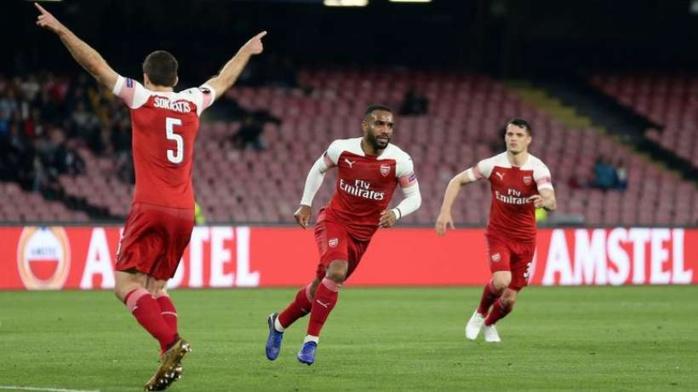 Europa Ligue : Arsenal bat Naples de Koulibaly (1-0) et affronte Valence en demi-finales