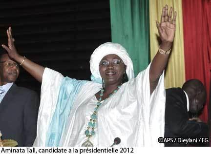 Sénégal : Aminata Tall déclare sa candidature pour la présidentielle de 2012 (AUDIO )