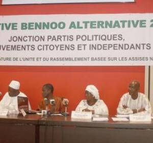 Bennoo Alternative 2012 pour une ligne de transparence, d'ouverture  et d'inclusion pour le choix du candidat de l'unité et du rassemblement