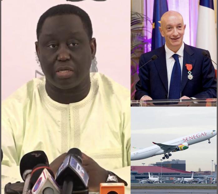 AIR SÉNÉGAL / Aliou Sall précise que Philippe Bohn a déposé une lettre de démission et que son remplacement n'est pas lié à l'histoire de l'aéronef réputé loué.
