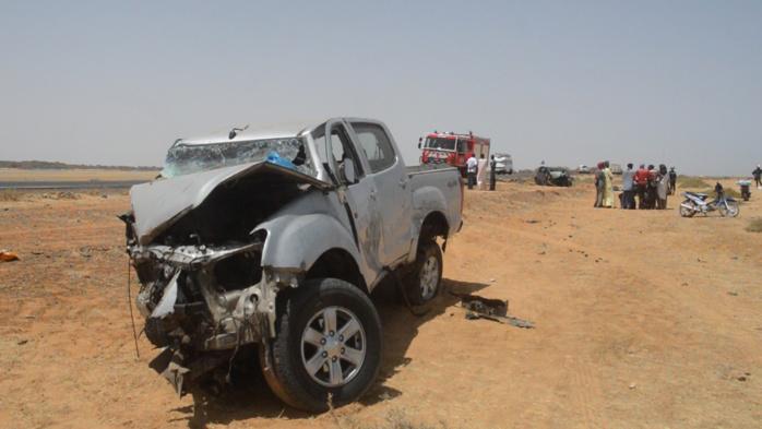 Richard-Toll / Accident au virage de colonat :  4 morts et 5 blessés