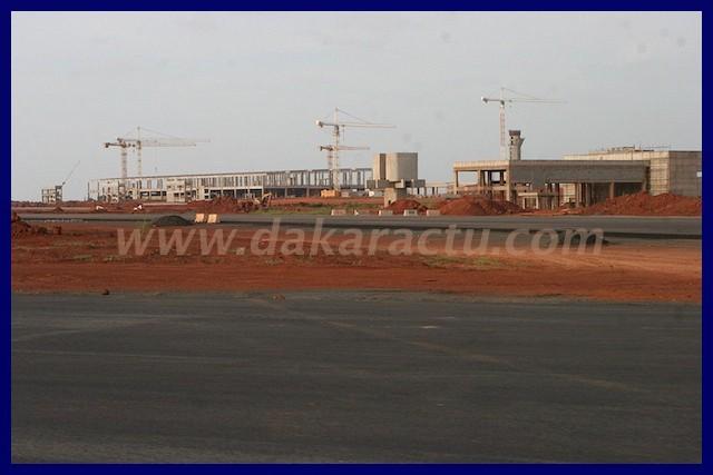 La preuve par l'image que l'aéroport de Diass ne peut pas être livré l'année prochaine.