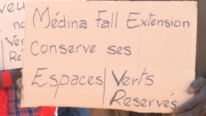 """Thiès : Les populations de Médina Fall """"Extension"""" Zone Nord dénoncent le morcellement de leurs 36 espaces verts"""