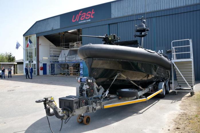 Actions en mer : Deux patrouilleurs de surveillance maritime commandés par le Sénégal à Ufast